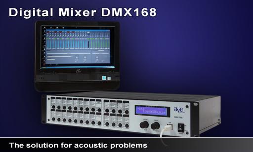 Mischverstärker DMX168 mit Touchscreen